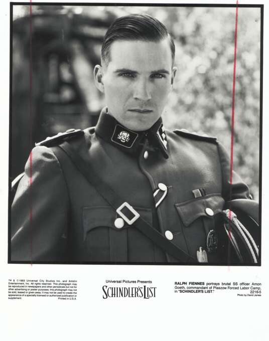 "Ralph Fiennes as Amon Goeth in ""Schindler's List"": Looked like him? Not really. Sounded like him? No idea.  Result: Triumph."