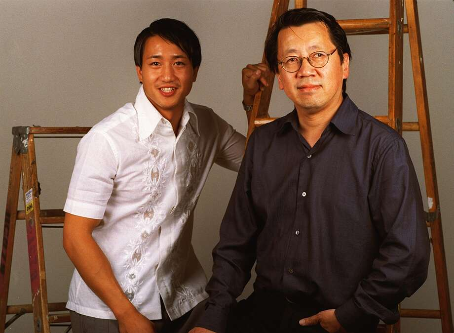"""Terry Chen and Ben Fong-Torres:  Chen played Ben in """"Almost Famous."""" Photo: ROBIN WEINER"""