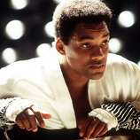 "Will Smith as Ali in ""Ali"":  Looks like him? Almost.  Not as pretty, but what can you expect.  Sounds like him?  Close enough.  Result:  Mixed.  A heroic job, but something in the dangerous essence was lost."