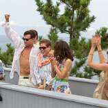 THE WOLF OF WALL STREET -- Leonardo DiCaprio gave the performance of life as Jordan Belfort, a real-life Wall Street swindler.