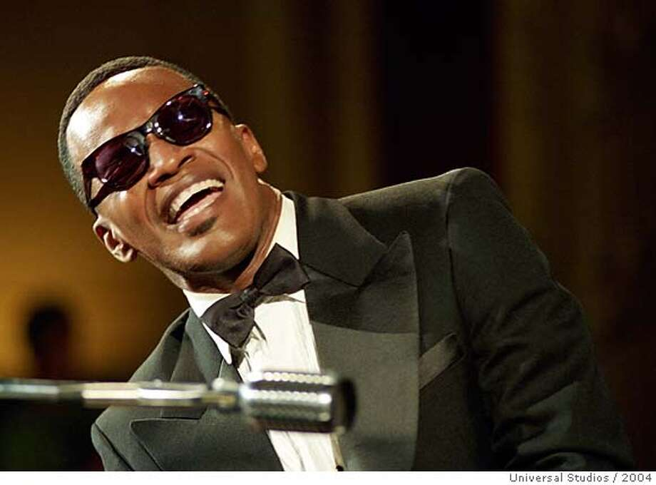 "Jamie Foxx as Ray Charles in ""Ray"""