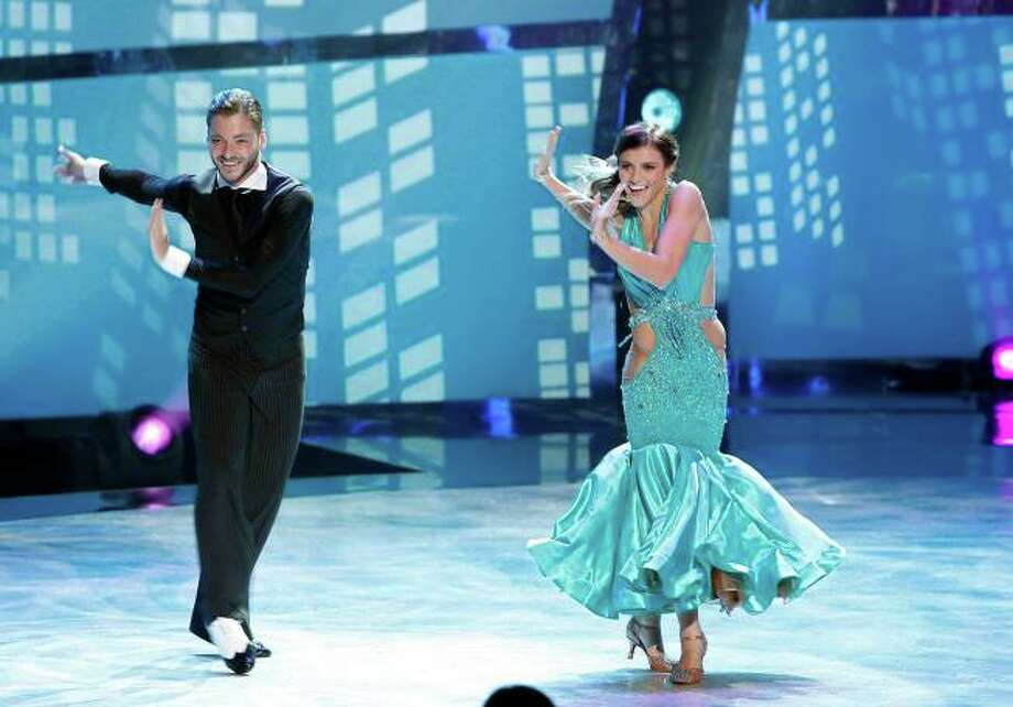 "SO YOU THINK YOU CAN DANCE: L-R: Top 14 contestants Serge Onik and Carly Blaney perform a Quickstep routine to ""A Cool Cat In Town"" choreographed by Jean-Marc Genereux on SO YOU THINK YOU CAN DANCE airing Wednesday, July 30 (8:00-10:00 PM ET/PT) on FOX. ©2014 FOX Broadcasting Co. Cr: Adam Rose"