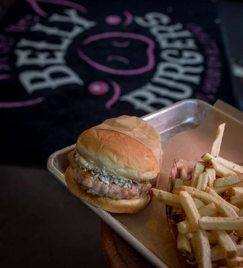 Big Chef Tom's Belly Burgers: Pork Belly Burgers Photo: John Storey, Special To The Chronicle