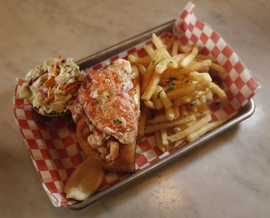 Woodhouse Fish Company: Shucked Raw Oysters, BBQ Oysters, Clam Chowder, Lobster Rolls Photo: Frederic Larson, The Chronicle