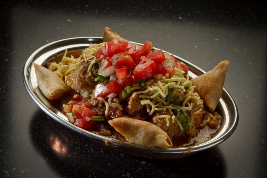 Curry Up Now: Deconstructed Samosas, Kathi Rolls (new to Outside Lands) Photo: John Storey, Special To The Chronicle