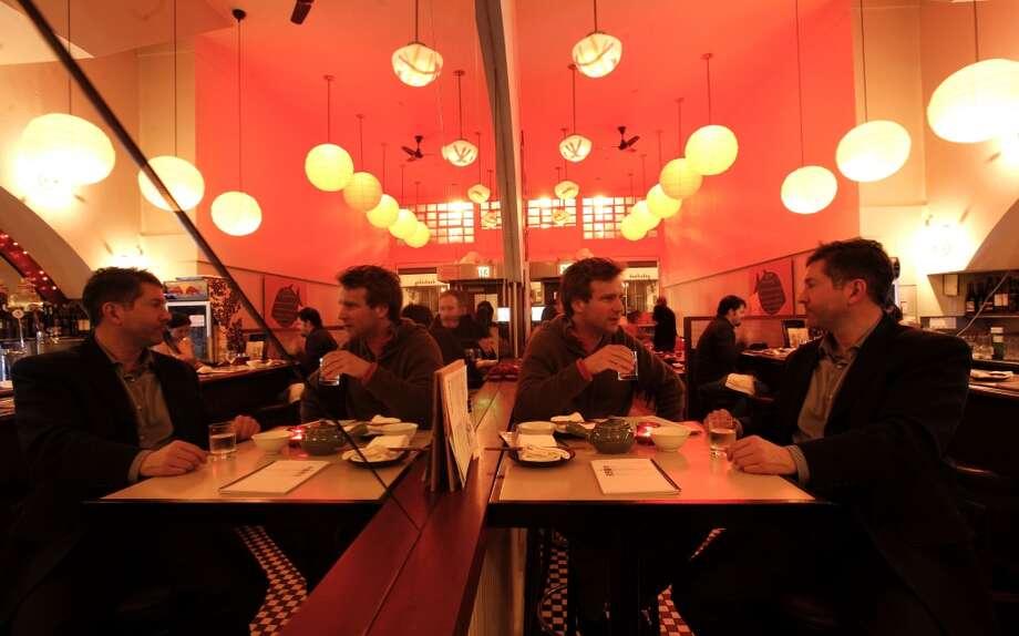 Nombe: Ramenburgers, sushi burritos, rice crisps Photo: Michael Macor, The Chronicle