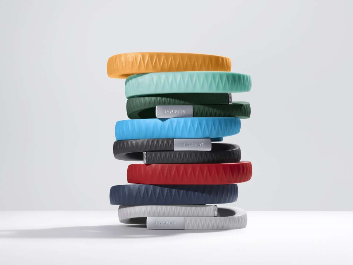 Jawbone Up Up tracks food and drink consumption, steps, workouts, calories burned, and sleep. It has a smart alarm that wakes users up based on their sleep cycle. Up24, for $149.99, syncs via Bluetooth, while the $79.99 Up syncs when plugged in.