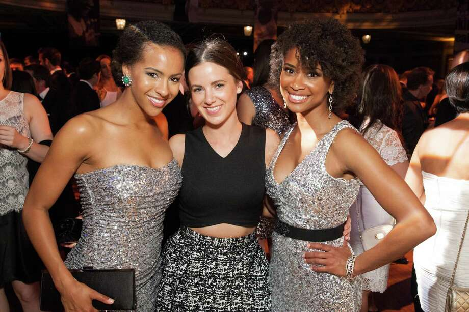 Rachel Gillum, Kanita Fuller and Tanisha Strong at the GLIDE Legacy Gala in San Francisco on July 26, 2014. Photo: Drew Altizer Photography/SFWIRE, Drew Altizer Photography / © 2014 Drew Altizer