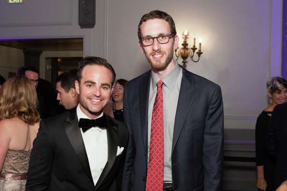 Phillip Zackler and Scott Wiener at the GLIDE Legacy Gala in San Francisco on July 26, 2014. Photo: Drew Altizer Photography/SFWIRE, Drew Altizer Photography / © 2014 Drew Altizer