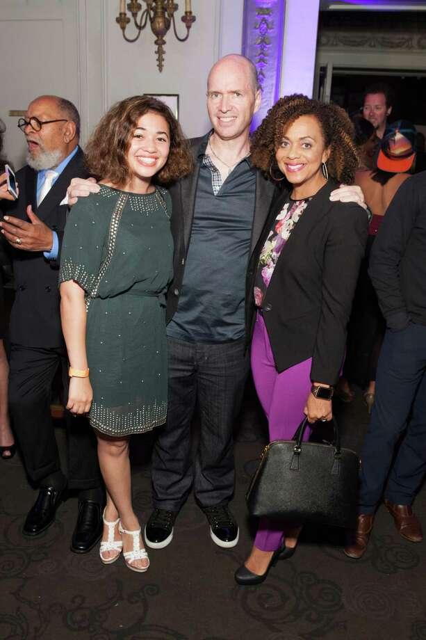Sophia Horowitz, Ben Horowitz and Felicia Horowitz at the GLIDE Legacy Gala in San Francisco on July 26, 2014. Photo: Drew Altizer Photography/SFWIRE, Drew Altizer Photography / © 2014 Drew Altizer
