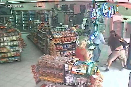 CLERK CHOKES OUT ATTEMPTED ROBBER: A Citgo convenience store clerk thwarted an attempted robbery of cellphones from his Fort Bend County store when he put a choke hold on one of the three suspects and refused to let go until a third suspect threatened to kill him. SEE THE VIDEO: Store clerk chokes out would-be robber Photo: Fort Bend County Crime Stoppers