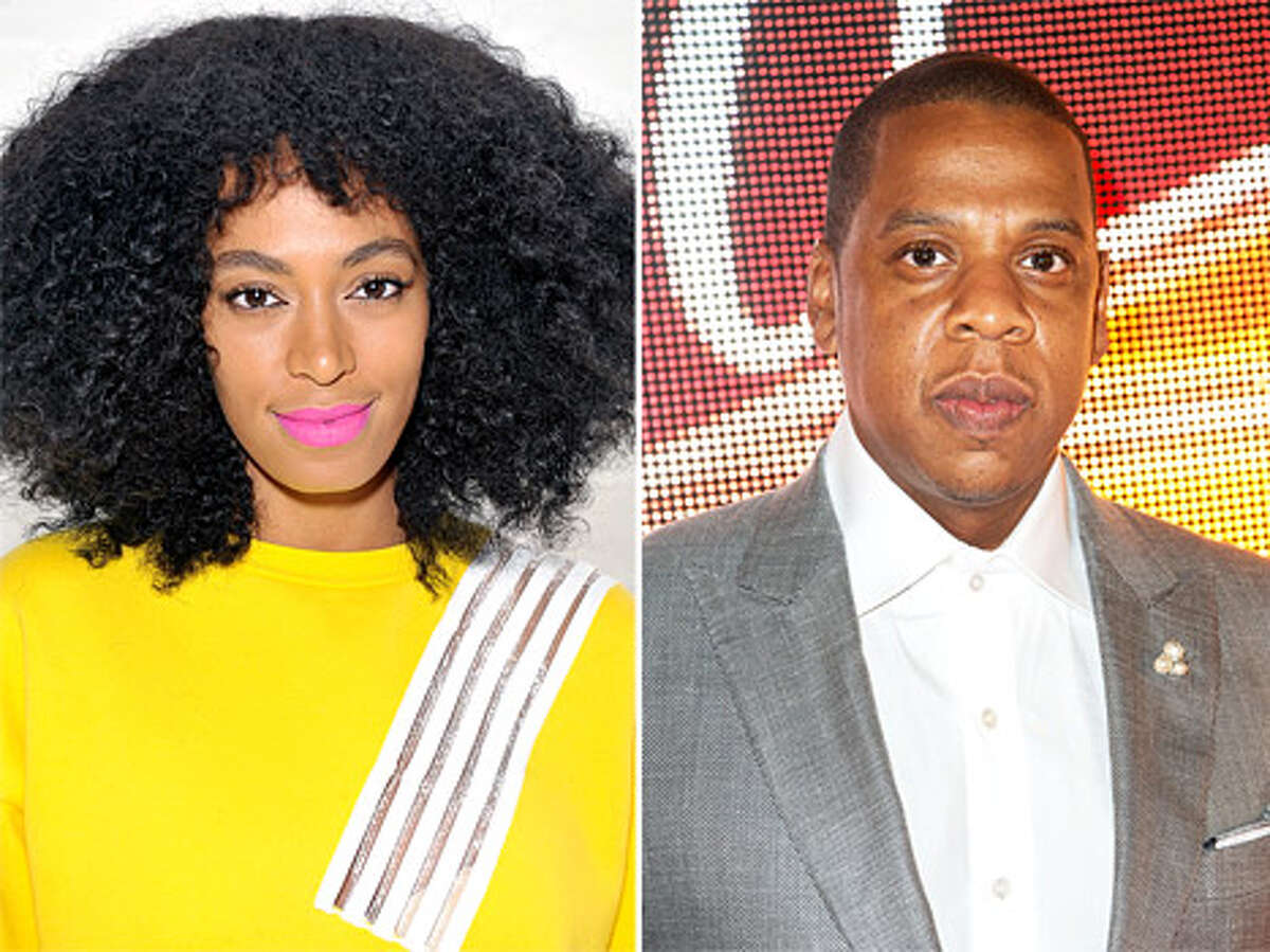 Solange vs. Jay Z: You couldn't escape this celebrity gossip, even if you wanted to. In May 2014, video leaked to TMZ showed Solange attacking her brother-in-law in an elevator during The Metropolitan Museum of Art's annual costume ball. Though no one knows for sure why the fight went down, the brawl sparked tons of theories and hilarious memes.
