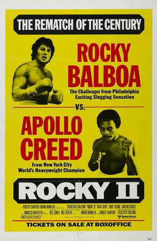 """Rocky II"" - After Rocky (Sylvester Stallone) goes the distance with champ Apollo Creed (Carl Weathers), both try to put the fight behind them and move on. Rocky settles down with Adrian (Talia Shire) but can't put his life together outside the ring, while Creed seeks a rematch to restore his reputation. Soon enough, the ""Master of Disaster"" and the ""Italian Stallion"" are set on a collision course for a climactic battle that is brutal and unforgettable. Available Aug. 1 Photo: Handout"