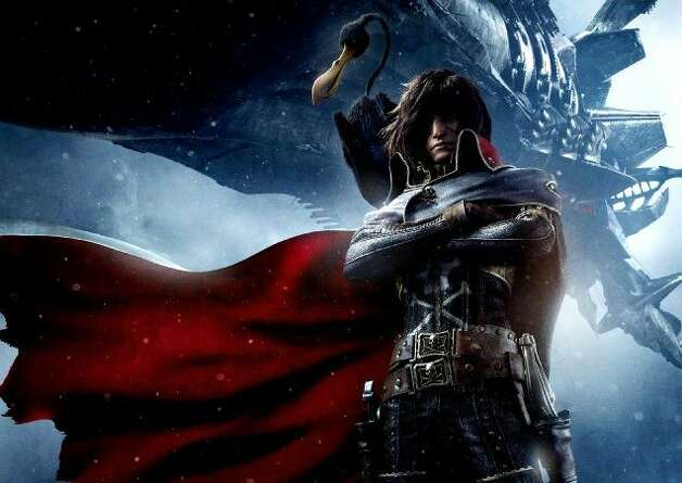 """Harlock: Space Pirate"" - Determined to keep the malevolent Gaia Coalition from ruling the universe, a mysterious loner cruises the skies and boldly attacks enemy spaceships. Available Aug. 1 Photo: Handout"