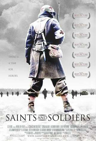 """Saints and Soldiers"" -  In a story based on actual events, a small band of Allied soldiers are trapped behind enemy lines with information that could save thousands of American lives. Outgunned and ill-equipped, they battle a frigid wilderness and roving German troops. Available Aug. 1 Photo: Handout"