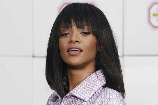 Pop star RihannaNote: Alleged photos were reportedly released Sunday, Sept. 21 on 4chan/Reddit.  The singer has made no comment. Photo: Thiabult Camus, Associated Press