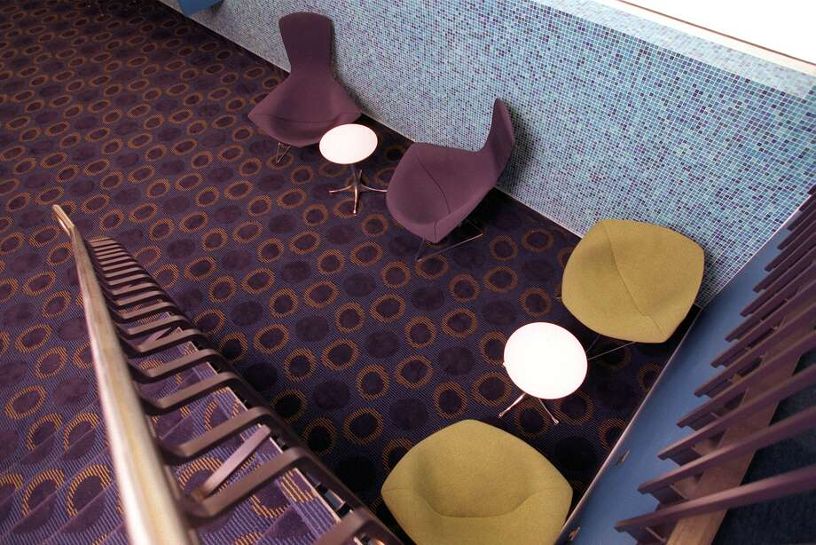 The Cinerama, bought and renovated by Paul Allen, is a state of the art cinema with some funky lobby furniture. Photo: PAUL JOSEPH BROWN, P-I File
