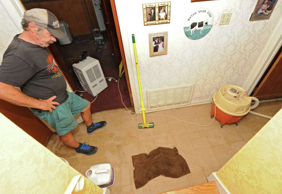 Click through the slideshow for some tips to prevent water damage in your home.Homeowner Steve Taite looks his flood damaged basement floor Thursday, July 3, 2014, in Niskayuna N.Y. A strong storm swept through the area Wednesday afternoon causing damage throughout the Capital Region. (Lori Van Buren / Times Union) Photo: Lori Van Buren / 00027623A