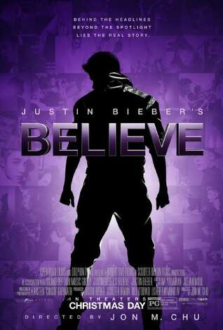"""Justin Bieber's Believe"" - The follow-up to the biggest concert film of all time, Never Say Never, Believe features performances from Justin Bieber's powerhouse world tour. The film also goes behind the scenes with the star, who shares the story of his rise to fame. Available Aug. 6 Photo: Handout"
