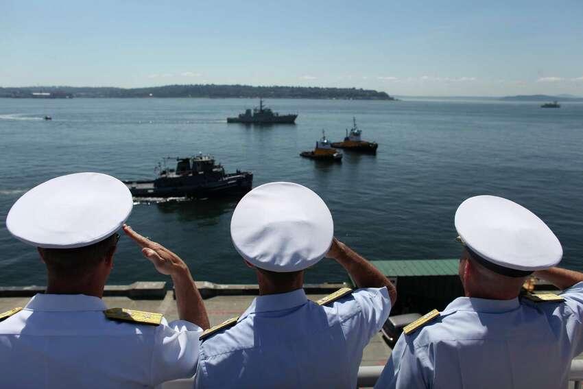 Seafair Fleet Week: Now through Aug. 2