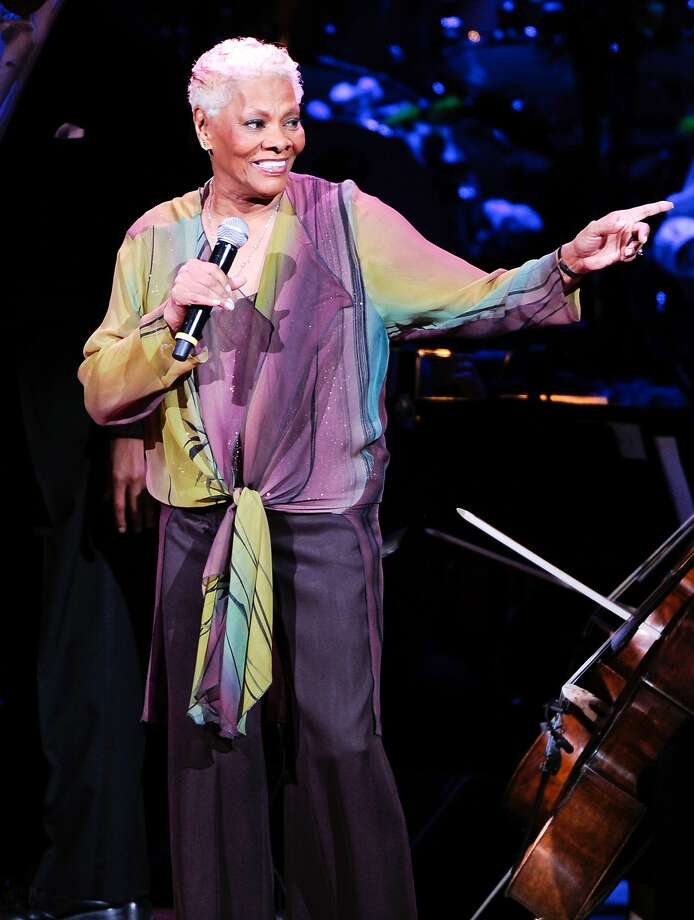 Dionne Warwick, shown singing in New York in April, will visit a conference Friday in San Jose. Photo: Evan Agostini, Associated Press