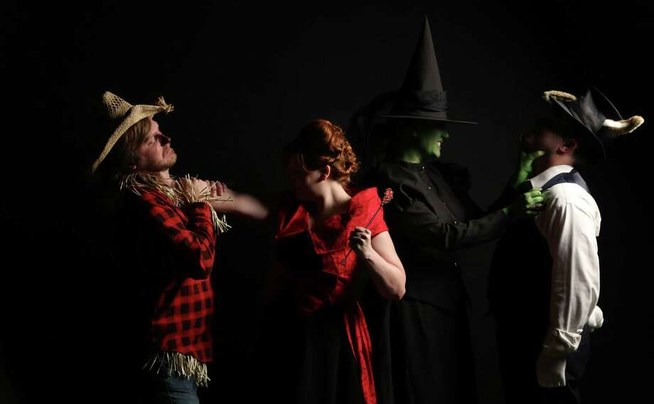 """Playwright Scott McDowell's latest serial, """"Queen's Castle,"""" blends elements from """"The Wizard of Oz"""" with """"Alice's Adventures in Wonderland."""" The show is at the Overtime Theater. Photo: Courtesy Overtime Theater"""
