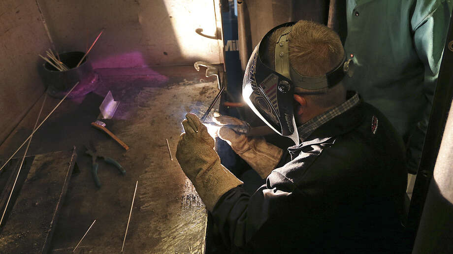 Jobs that require high degree of technical skills, such as welding, are now and will continue to be in high demand. Photo: Jerry Lara, San Antonio Express-News / ©2014 San Antonio Express-News