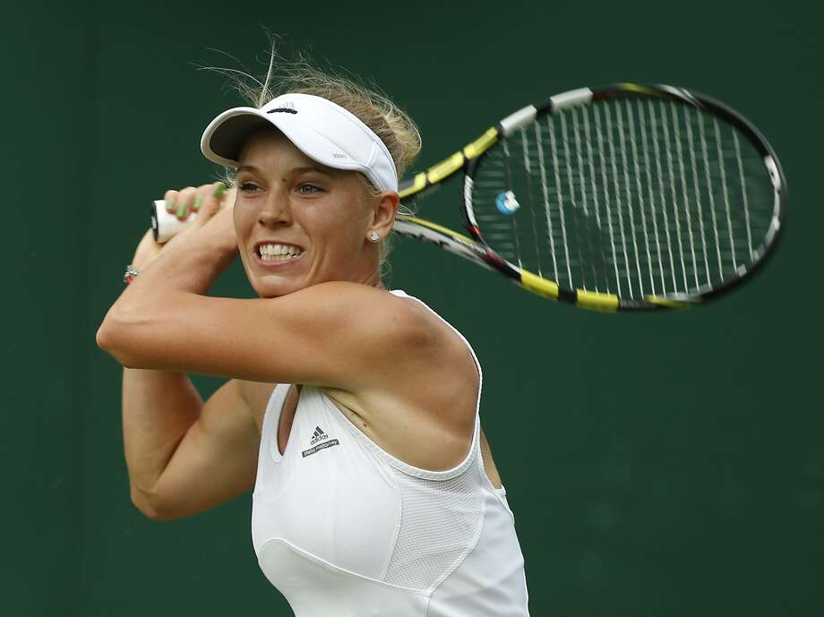 Caroline Wozniacki Photo: Alastair Grant, Associated Press