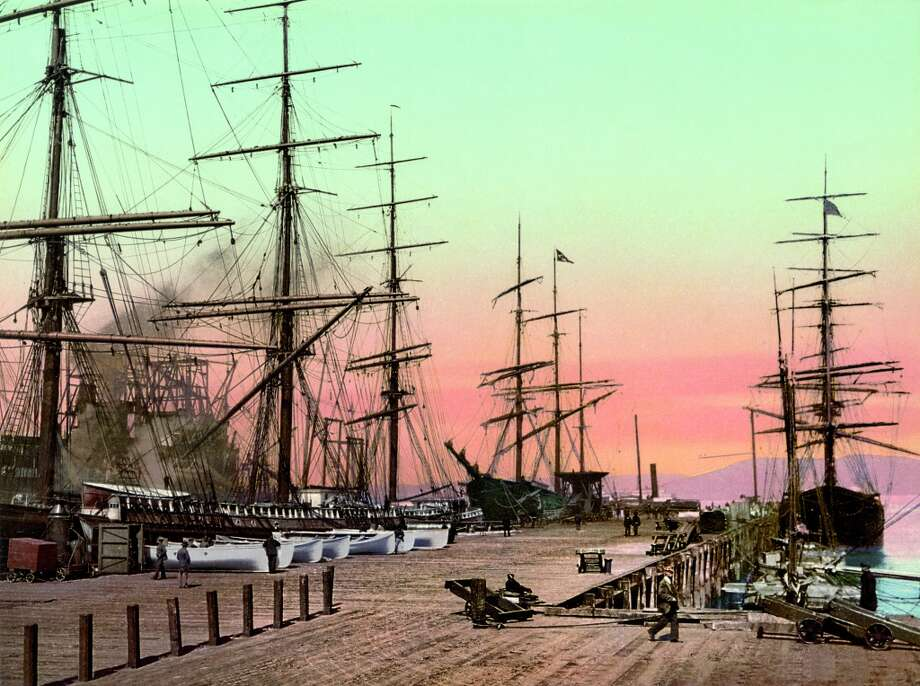 San Francisco's harbor. Photo: Collection Marc Walter / Courtesy Taschen