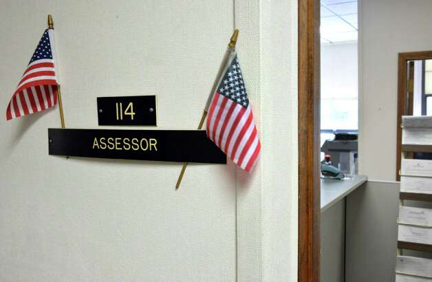 Entrance to the Assessor's offices at Bethlehem Town Hall Thursday, June 5, 2014, in Bethlehem, N.Y.  (John Carl D'Annibale / Times Union archive) Photo: John Carl D'Annibale / 00027219A