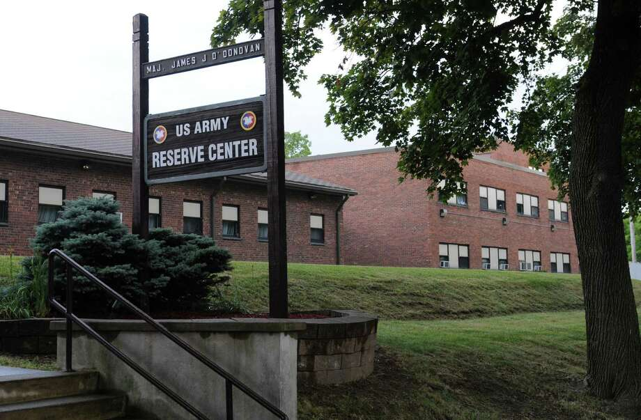 Exterior of the Maj. OODonovan Recruitment and Training facility at 90 N. Main Ave. on Thursday, July 31, 2014 in Albany, N.Y.  (Lori Van Buren / Times Union) Photo: Lori Van Buren / 00028024A