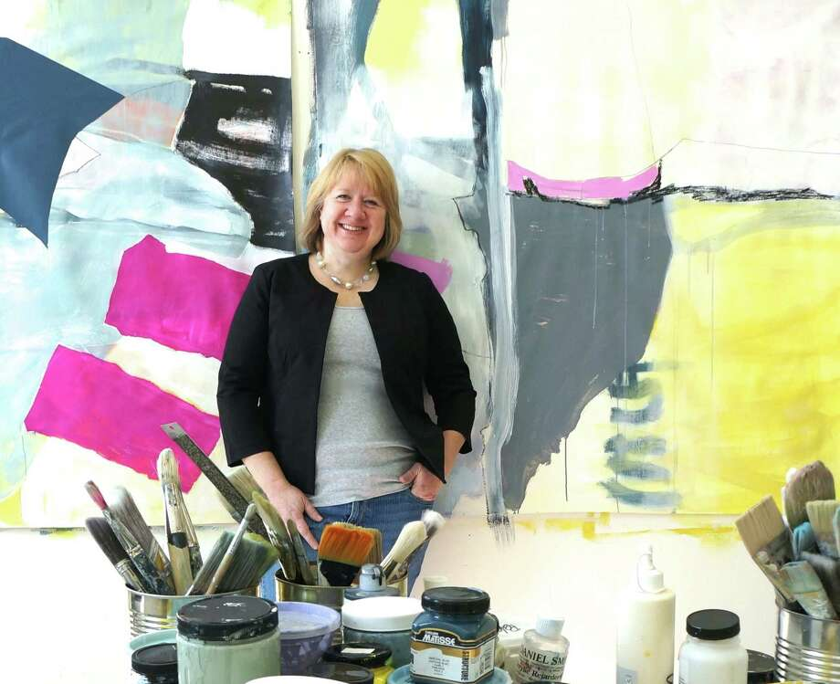 Mary Elizabeth Peterson is having her first solo show through Sept. 1 at Troy Fine Art in Fairfield. Photo: Contributed Photo / Connecticut Post Contributed