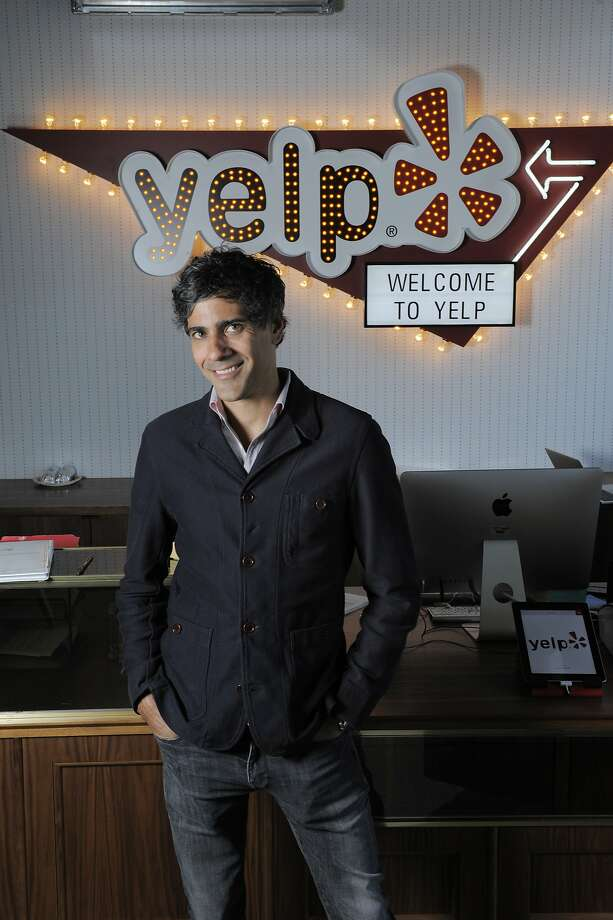 "Yelp CEO and co-founder Jeremy Stoppelman poses for a portrait at Yelp headquarters at 140 New Montgomery St. in San Francisco. Yelp turns 10 years old this weekend. It earned its first quarterly profit last quarter. ""We're still in the very early days of Yelp's potential,"" Stoppelman said in an interview. Photo: Craig Hudson, The Chronicle"
