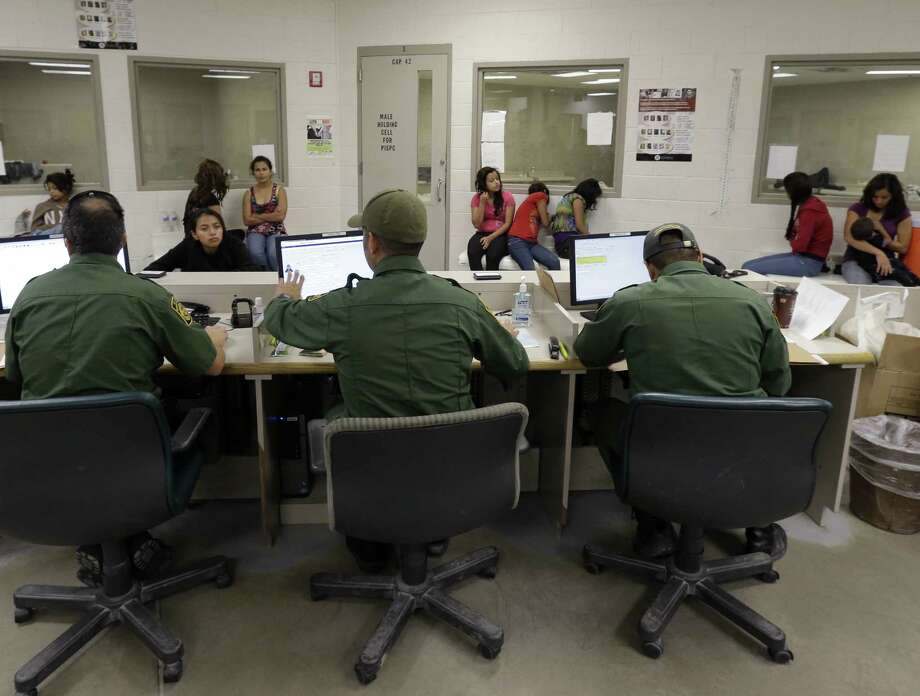 After criticism of backlogs, immigration courts are speeding up hearings for the thousands of Central American children caught on the U.S. border. Photo: Associated Press / AP (POOL)