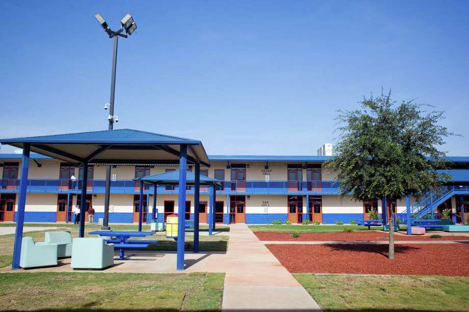 The Karnes County Residential Center, which was opened Thursday for a media tour, will now house mother and child detainees taken into custody by U.S. Immigration and Customs Enforcement. Photo: Drew Anthony Smith, Stringer / 2014 Getty Images
