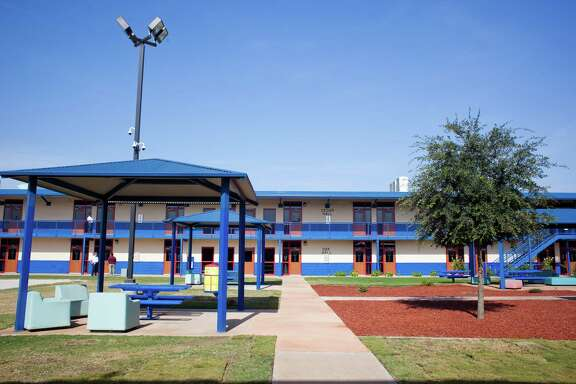 The Karnes County Residential Center, which was opened Thursday for a media tour, will now house mother and child detainees taken into custody by U.S. Immigration and Customs Enforcement.