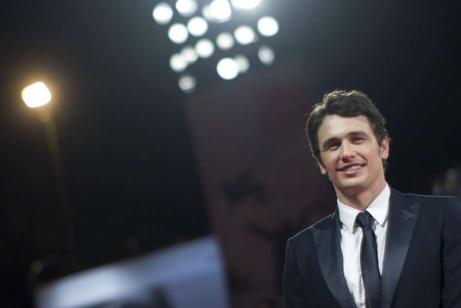 "In this Aug. 31, 2013 file photo, actor and director James Franco poses for photographers on the red carpet for the screening of the film ""Child Of God"" at the 70th edition of the Venice Film Festival in Venice, Italy. Photo: Andrew Medichini, Associated Press"