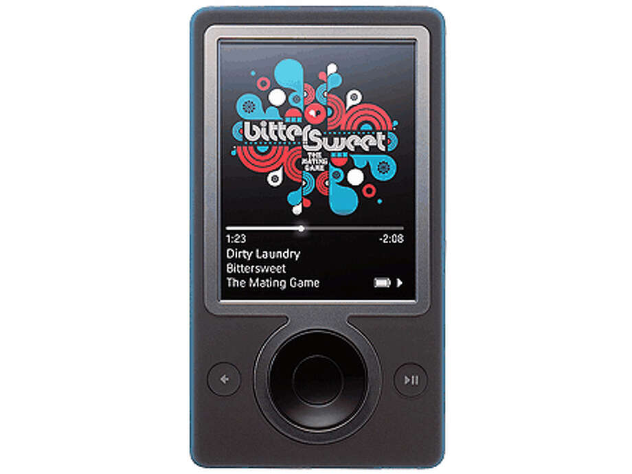 """2006 — Microsoft ZuneThe Zune took on Apple's iPod -- and failed. Business Insider cited Robbie Bach, former leader of Microsoft's home entertainment and mobile business: """"We just weren't brave enough, honestly, and we ended up chasing Apple with a product that actually wasn't a bad product, but it was still a chasing product, and there wasn't a reason for somebody to say, oh, I have to go out and get that thing."""" Photo: CNET Review / Chronicle"""