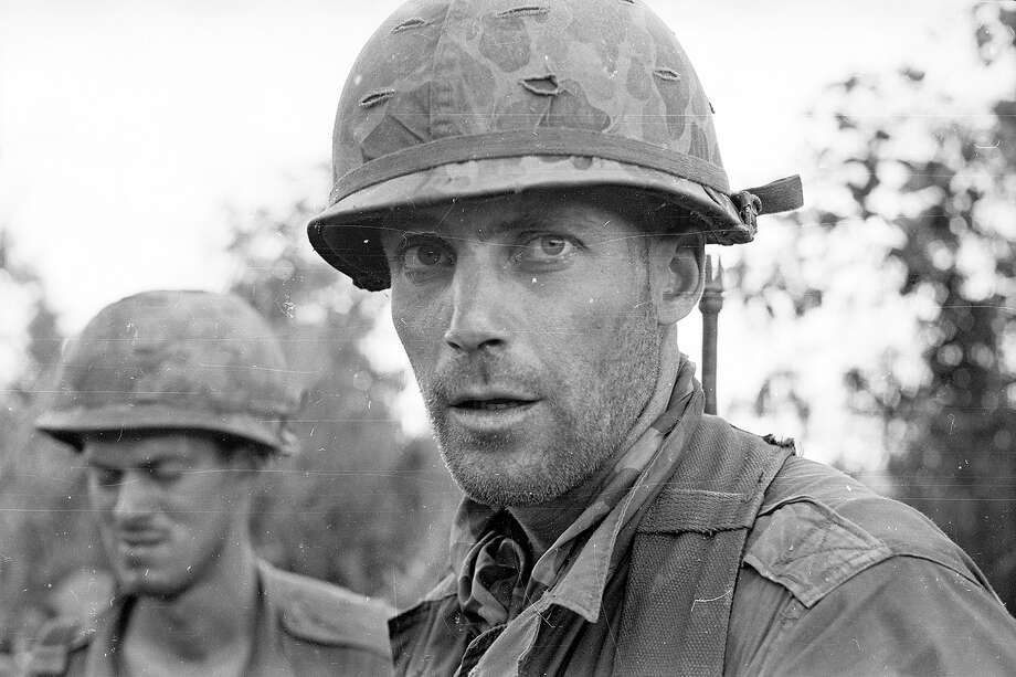 American soldiers in Vietnam, during the Vietnam War, 1966. Photo: Ian Brodie, Getty Images / Hulton Archive