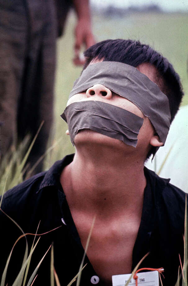 A Vietcong prisoner captured during Cape Batangan battle, 1965. Photo: Paul Schutzer, The LIFE Picture Collection/Gett / Time & Life Pictures