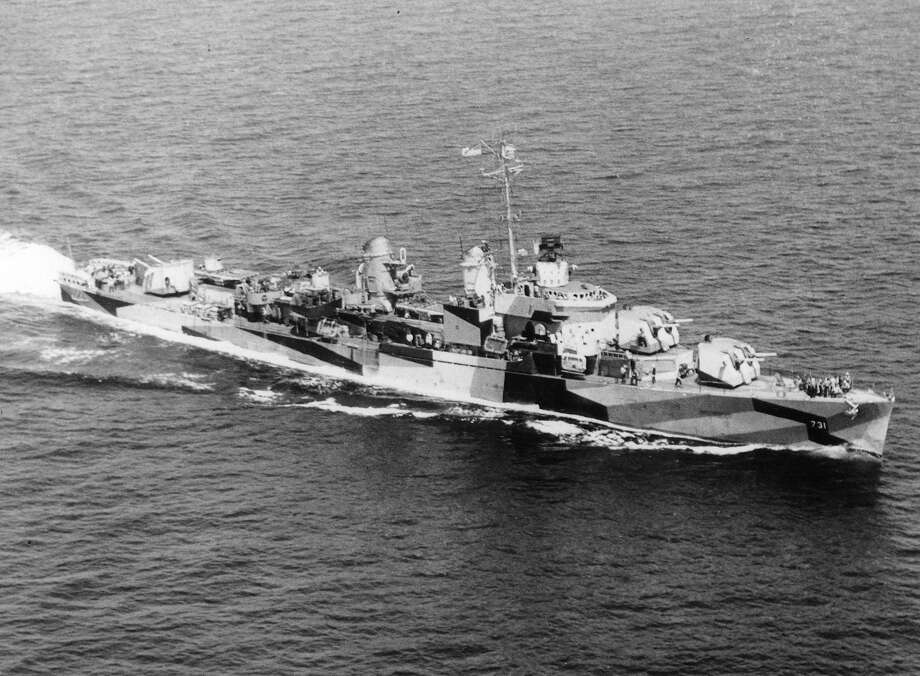 """Fifty years ago, on August 2, 1964, the destroyer USS Maddox (above), exchanged fire with three North Vietnamese torpedo boats in the Gulf of Tonkin.Two days later, the same destroyer fired on radar targets, which in years since, have been disputed as having been actual ships and not radar anomalies. Within minutes, President Lyndon B. Johnson authorized military action.On August 10, Congress passed a joint resolution giving the president the use of """"conventional"""" military force in Vietnam, effectively becoming the legal rationale for the Vietnam war.This slideshow is a look back at the conflict in Southeast Asia through photographs. Photo: ASSOCIATED PRESS / AP1964"""
