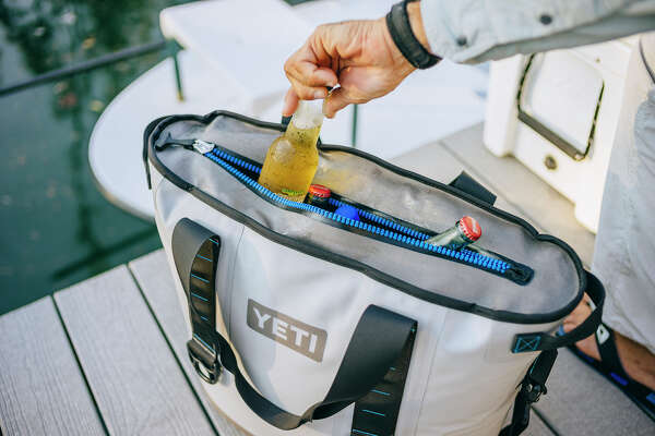Austin-based high-end cooler brand Yeti will debut its new portable Hopper cooler in October 2014.