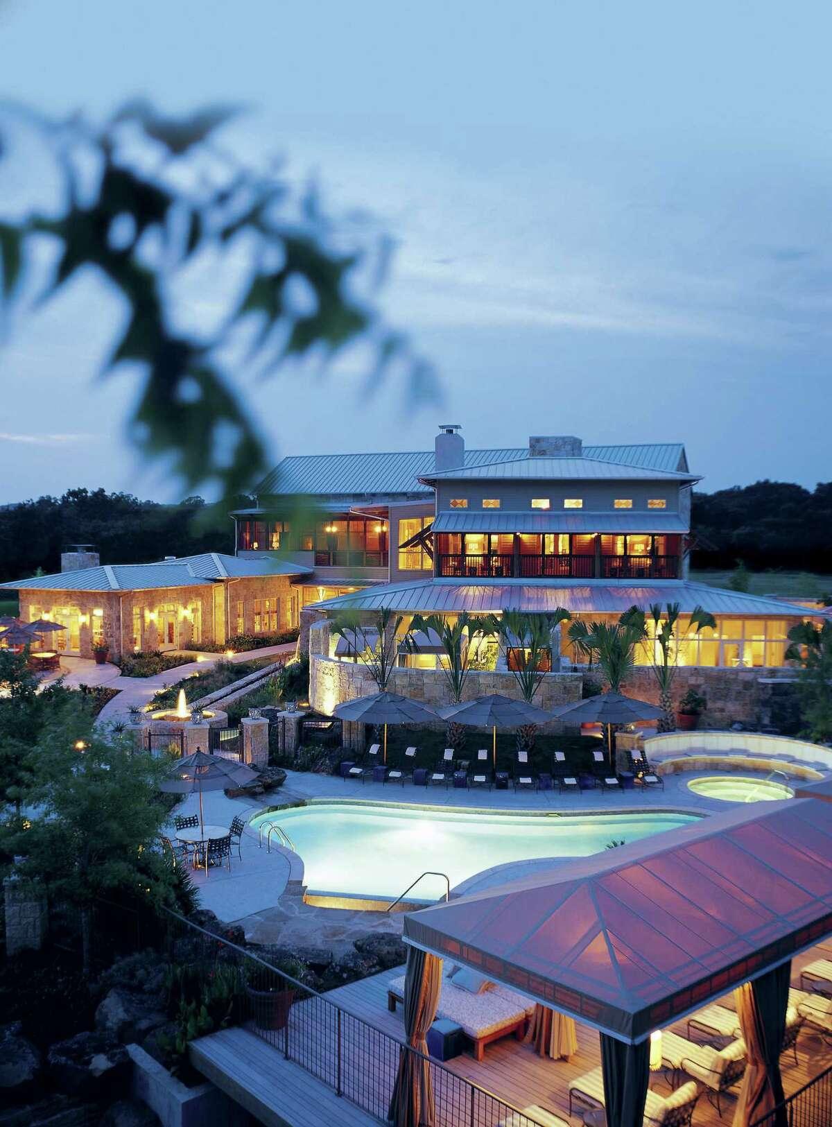 Lake Austin Spa Resort in Austin is set on 19 lake-front acres.