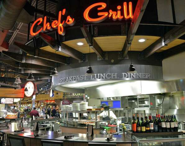 Chef's Grill, a full-service sit down restaurant inside Price Chopper's Market Bistro Friday July 25, 2014, in Colonie, NY.  (John Carl D'Annibale / Times Union) Photo: John Carl D'Annibale / 00027907A
