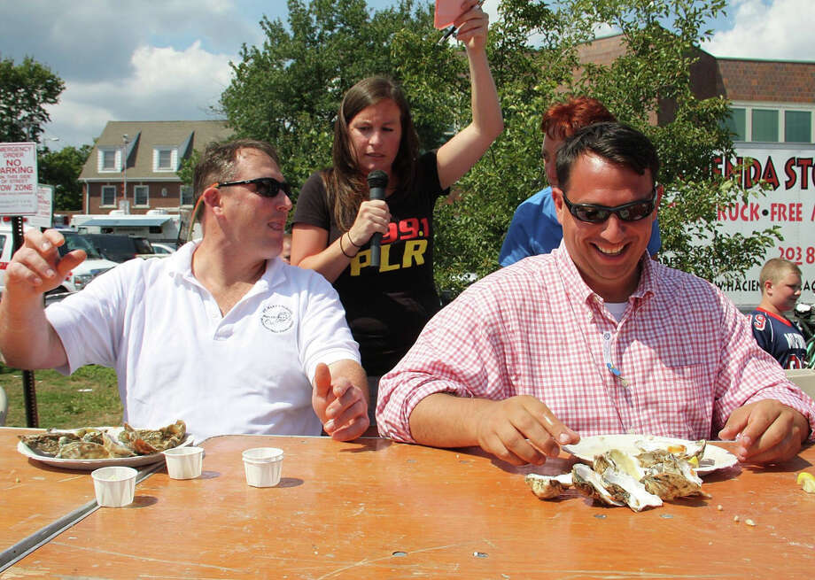 The 40th Annual Milford Oyster Festival will host Bret Michaels at the Festival Main Stage on Saturday, August 16, 2014. An oyster-eating contest will be a highlight of the day. Photo: Contributed Photo / Connecticut Post Contributed