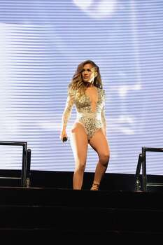 EAST RUTHERFORD, NJ - JUNE 29:  Jennifer Lopez performs onstage during 103.5 KTU's KTUphoria 2014 presented by Burlington, at IZOD Center on June 29, 2014 in East Rutherford, New Jersey.  (Photo by Mike Coppola/Getty Images for Clear Channel Media and Entertainment New York)