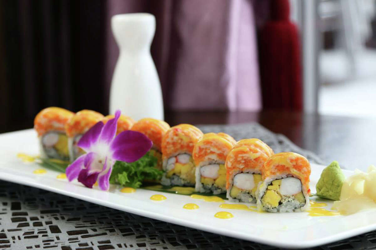 Black Diamond Roll at Asian Bistro in Stamford.