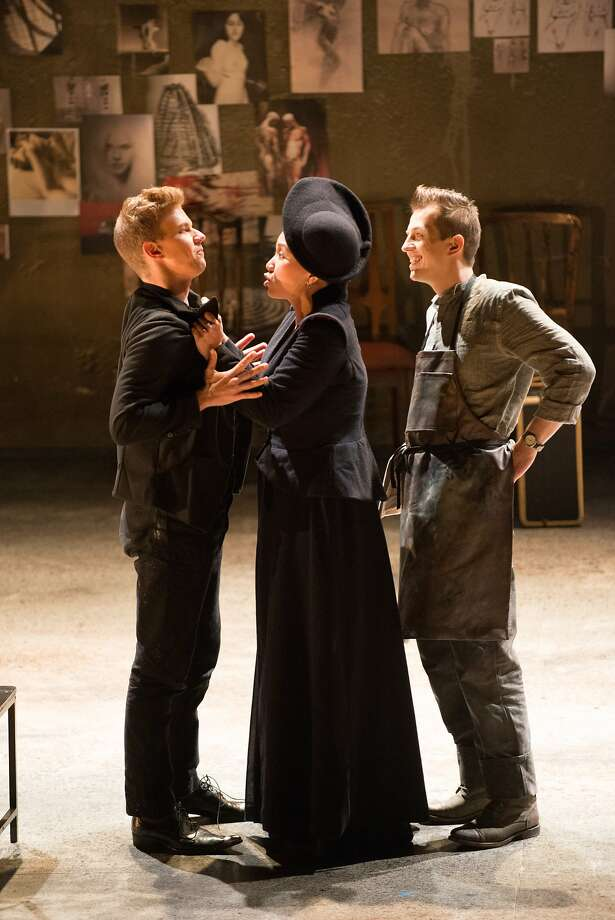 "Edward Nelson (left), Karen Chia-ling Ho and Szymon Wach in Merola's ""Don Giovanni."" Photo: Kristen Loken"
