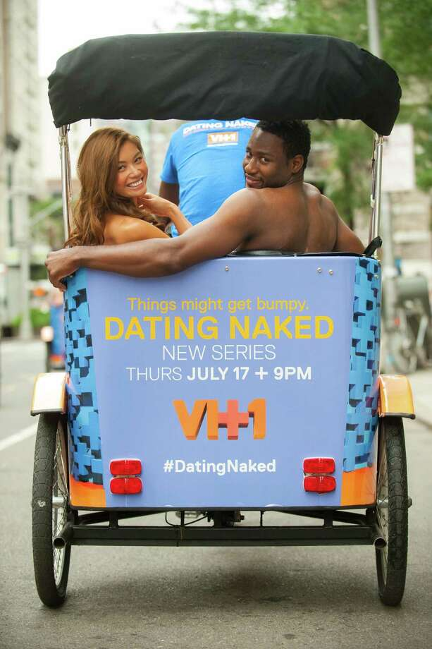 "IMAGE DISTRIBUTED FOR VH1 - Couples take a ride in a pedicab to promote the new VH1 series ""Dating Naked"" on Wednesday, July 16, 2014, in New York City. (Photo by Scott Gries/Invision for VH1/AP Images) ORG XMIT: INVL Photo: Scott Gries / Invision"