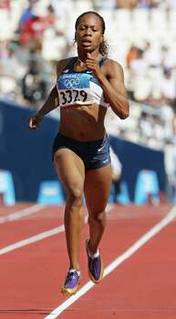 Sanya Richards-Ross: Runner who took gold in the 4x400-meter relay at both the 2004 Olympics in Athens and the 2008 Olympics in Beijing. Also took bronze in the 400-meter individual at Beijing. She won gold medal in the 400-meter individual and as a member of the 4x400-meter relay team at the 2012 Olympics in London. Photo: Anja Niedringhaus, Associated Press / AP